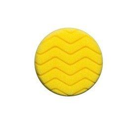RRC Classic Zigzag 80mm żółta gąbka polerska